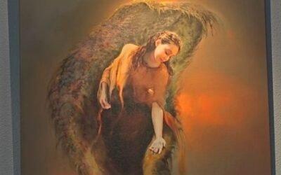 Expositie van engelen in de Regenboogkerk