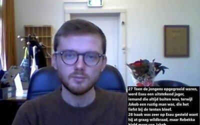 Bijbelvlog Willem Nijsse