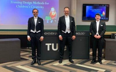 Felicitaties voor Dr. Wouter Sluis-Thiesscheffer